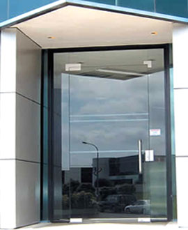 Glass thousand oaks oakstone glass doors for Residential front doors with glass